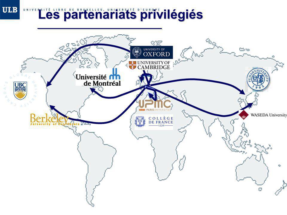 Les partenariats privilégiés