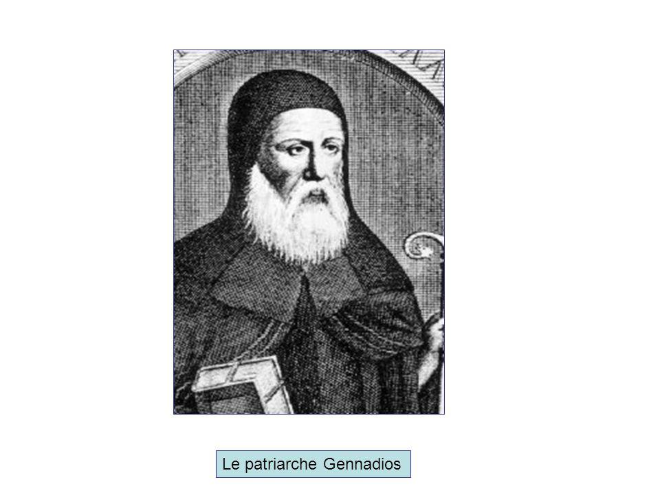 Le patriarche Gennadios