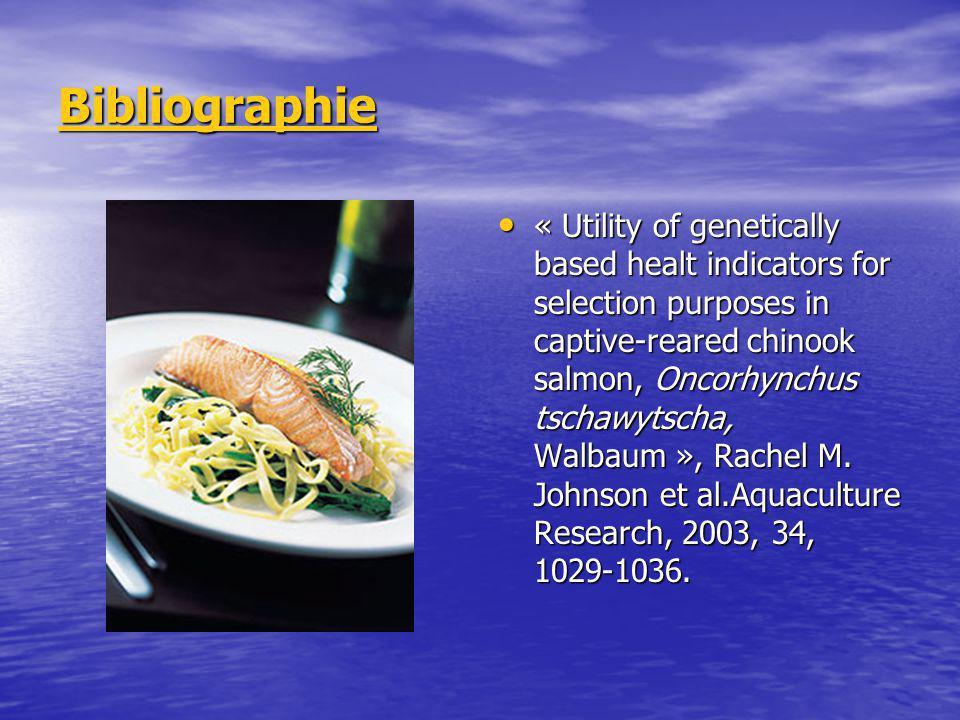 6.Conclusion Association : A.P.L. élevée avec BKD + Sont des bons indicateurs de la santé chez le poisson Association : A.P.L. élevée avec BKD + Sont