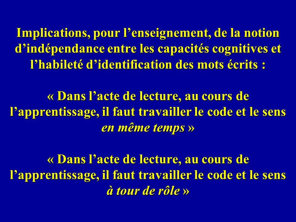 Quelles sont les grandes lignes du processus dapprentissage de la lecture en français en première année primaire .