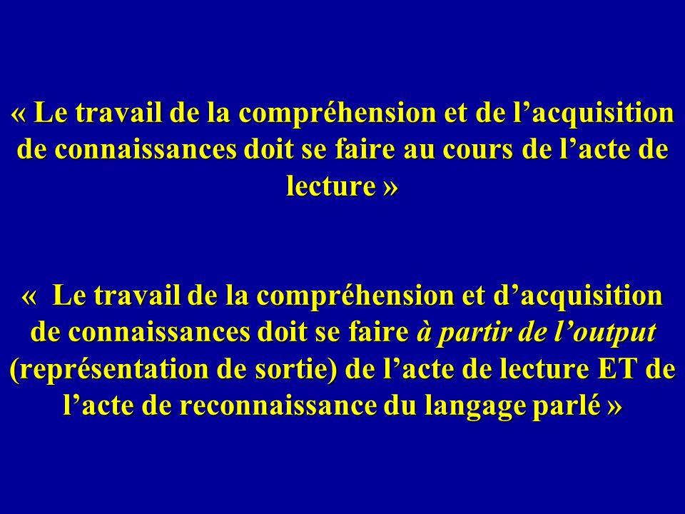 En Français, lenfant doit faire face au fait que le même graphème (-s-) ne correspond pas toujours au même phonème (bise/mis/anse), que la lettre « m » se lit /m/ lorsquelle appara î t entre voyelles (chameau) mais ne se lit pas et contribue à nasaliser la voyelle pr é c é dente si elle-même est suivie d une consonne (champion) et inversement, le même phonème ne se réalise pas toujours avec le même graphème (/o/ se transcrit par o, au, eau…).