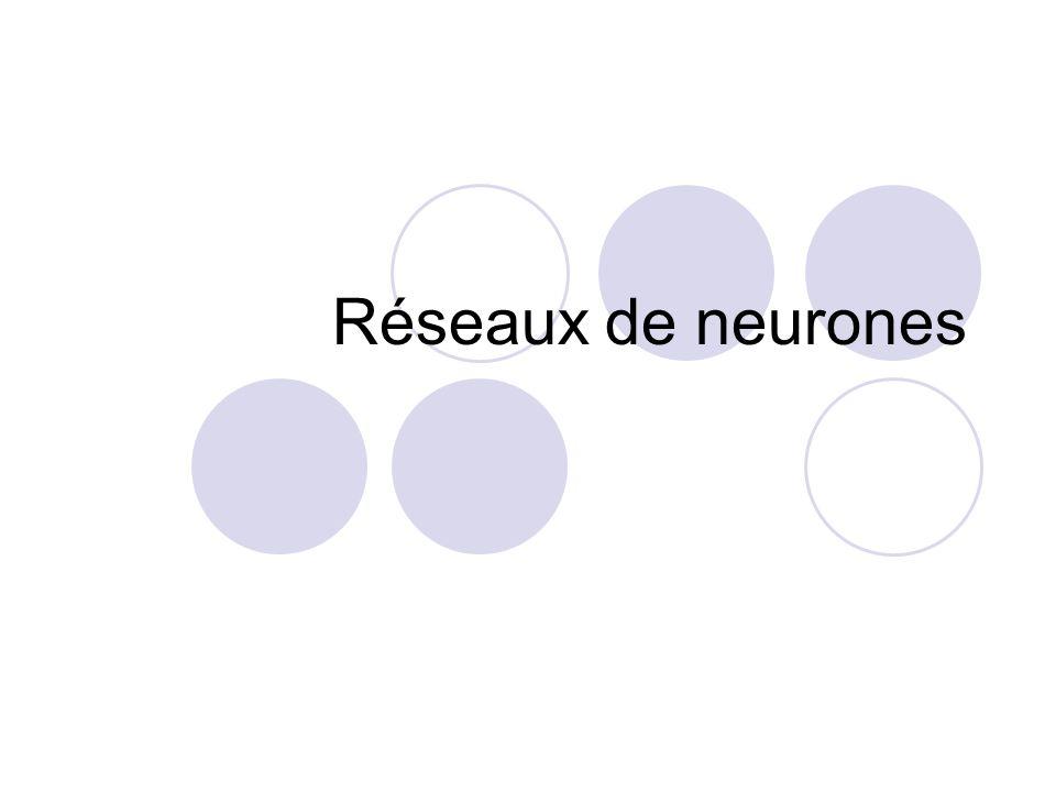 2 Sommaire Perceptron Mémoires associatives Réseau à couches cachées Rétro-propagation de lerreur
