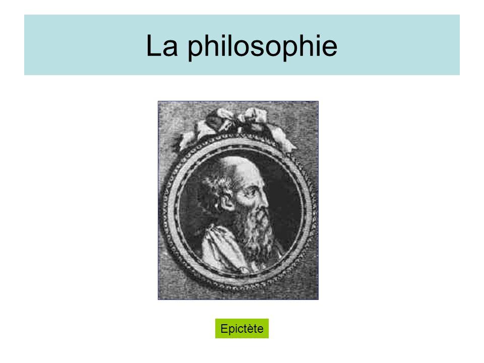 La philosophie Epictète