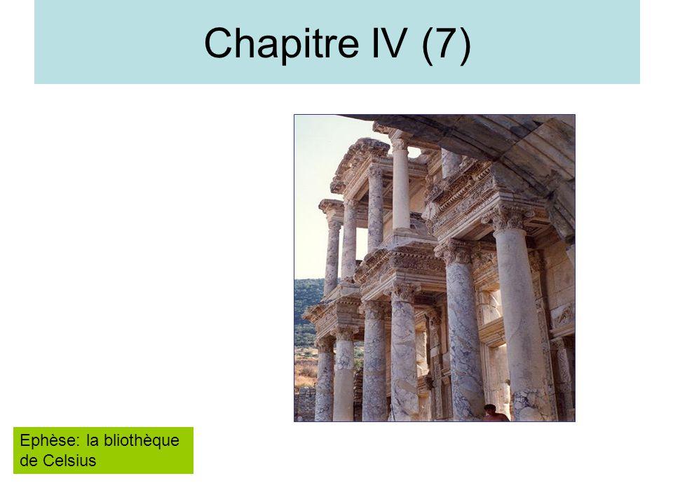 Chapitre IV (7) Ephèse: la bliothèque de Celsius