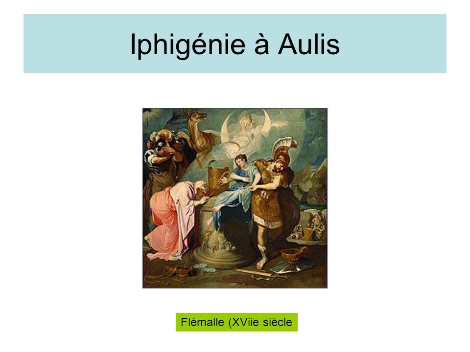 Iphigénie à Aulis Flémalle (XViie siècle