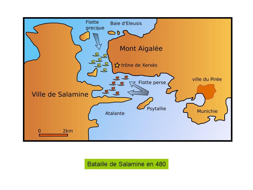 Bataille de Salamine en 480