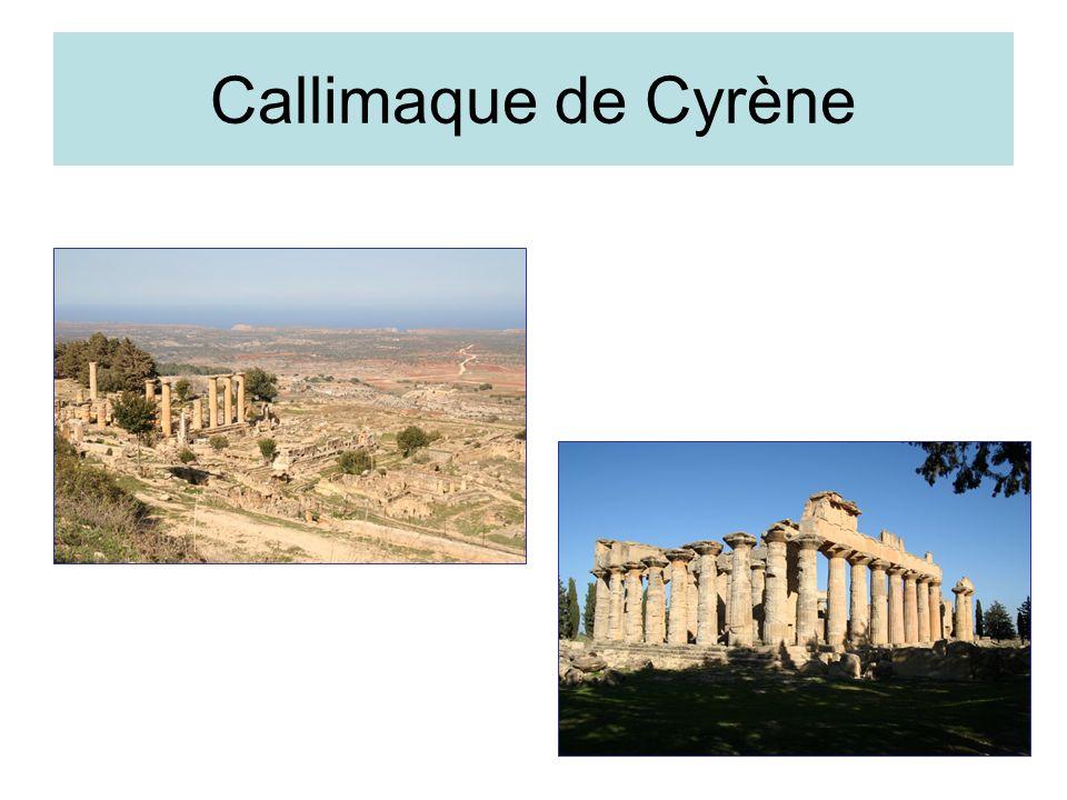 Callimaque de Cyrène