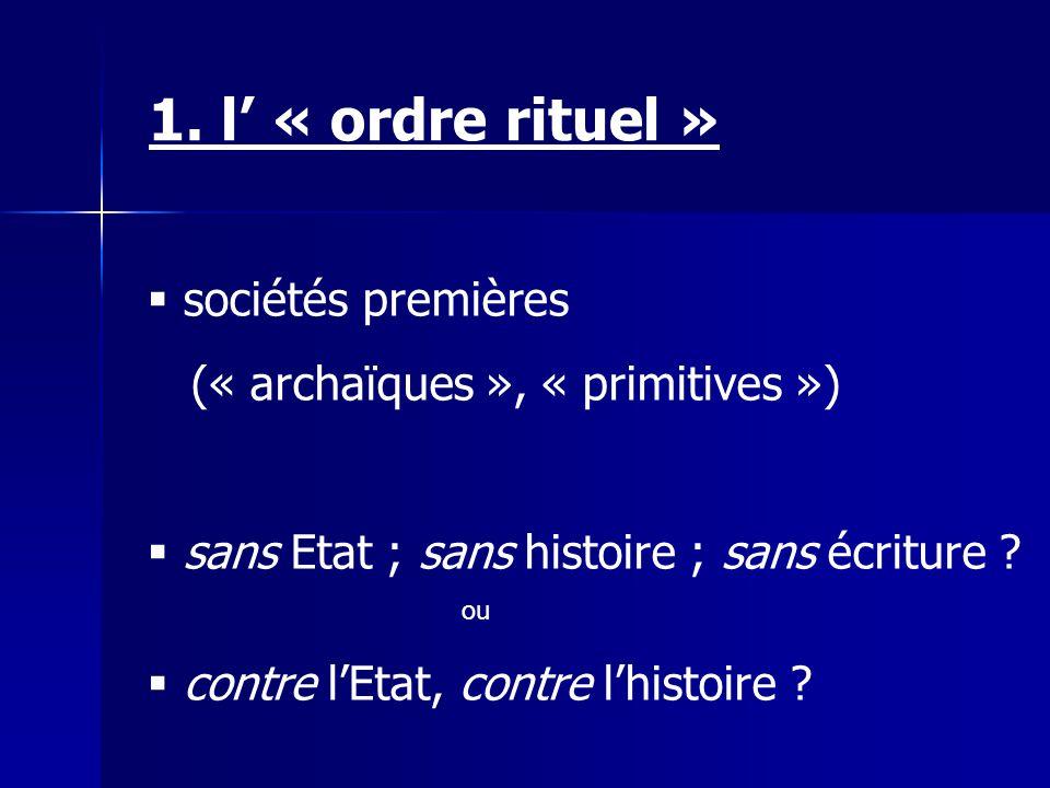 « sociétés froides » horloge équilibre « sociétés chaudes » thermodynamique « différentiel » Claude Lévi-Strauss