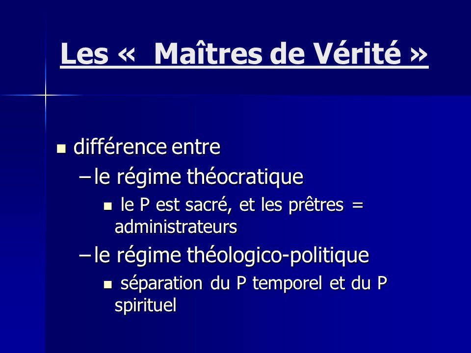 différence entre différence entre –le régime théocratique le P est sacré, et les prêtres = administrateurs le P est sacré, et les prêtres = administra