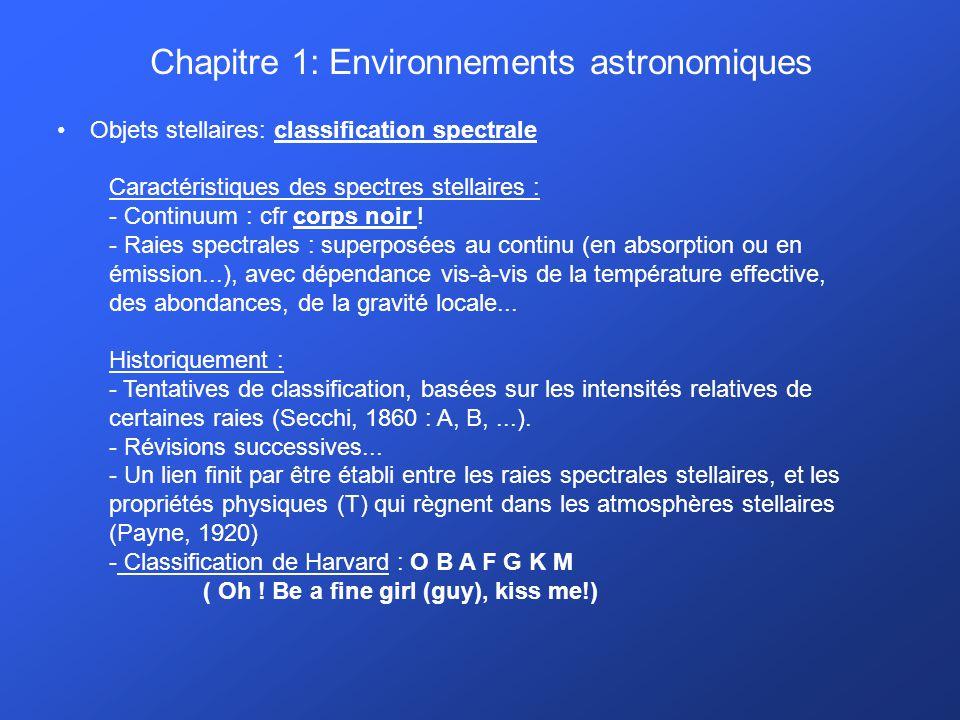 Chapitre 1: Environnements astronomiques Milieu interstellaire :. M20 (région H II)