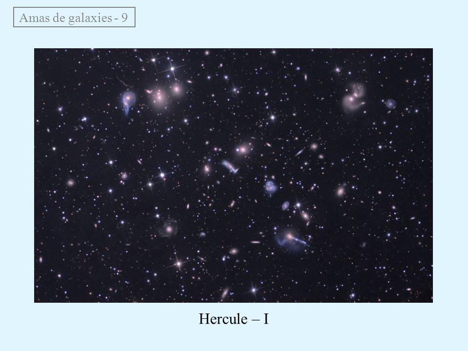 Amas de galaxies - 9 Hercule – I