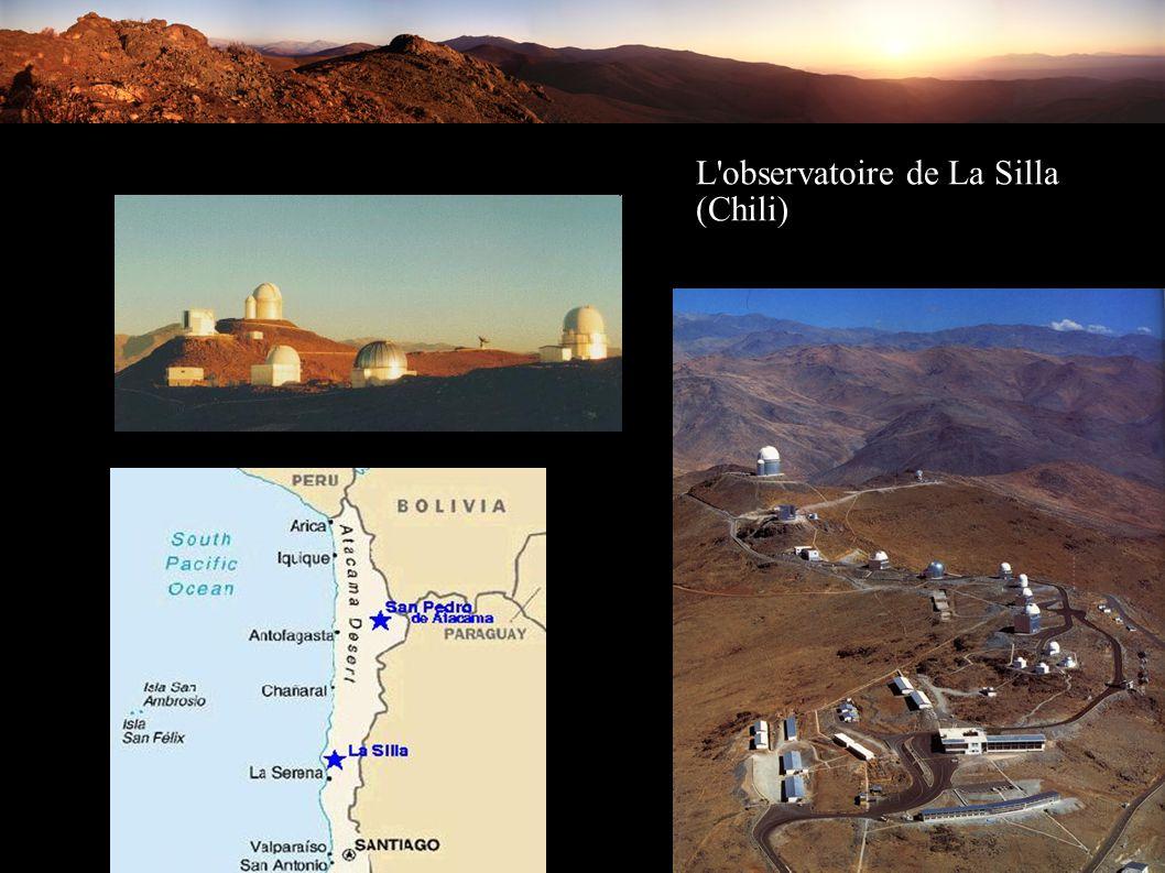 L'observatoire de La Silla (Chili)