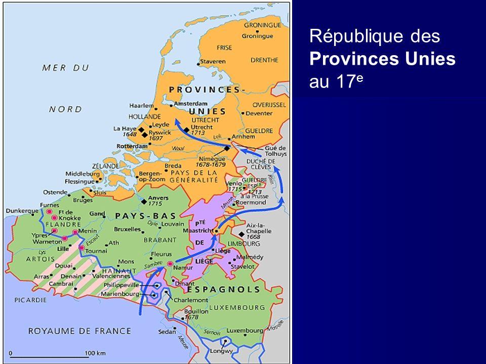 République des Provinces Unies au 17 e