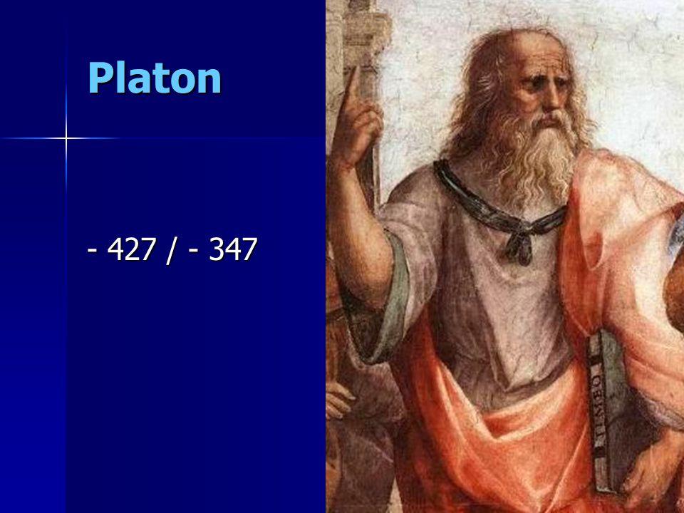 Platon - 427 / - 347