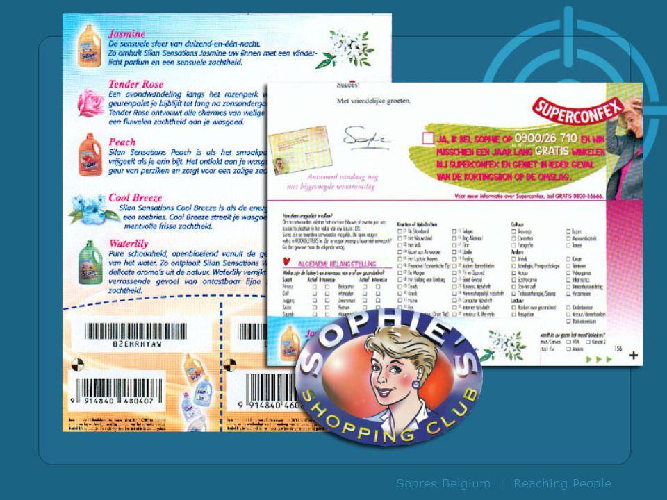 Sopres Belgium | Reaching People