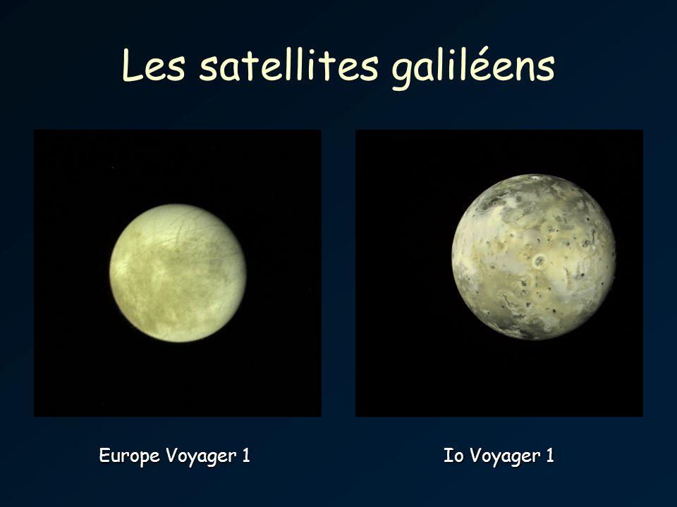 Les satellites galiléens Europe Voyager 1 Io Voyager 1