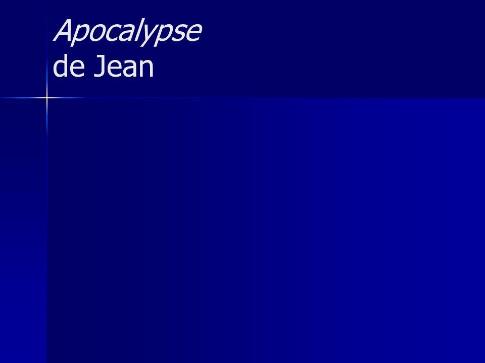 Apocalypse de Jean
