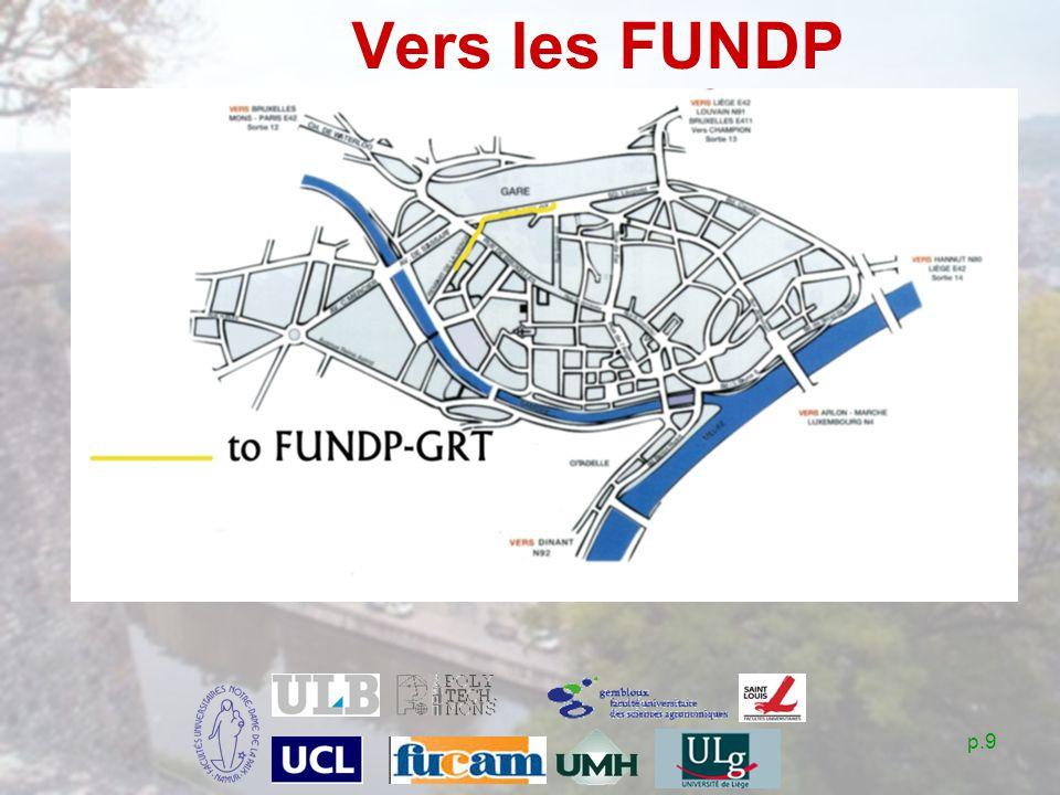 p.9 Vers les FUNDP