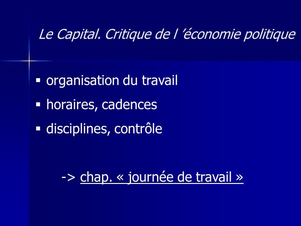 1.le droit social -> contrat de travail : mystification 2.