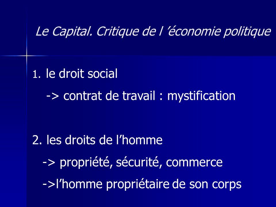 augmenter la plus-value : 1) allonger la durée du travail -> surtravail 2) réduire la durée du travail nécessaire -> productivité (taylorisme, toyotisme, management, etc.) Le Capital.