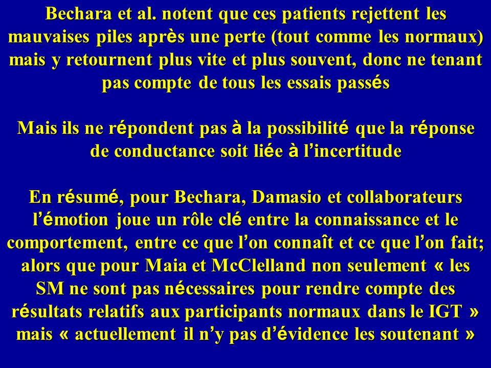 Bechara et al.