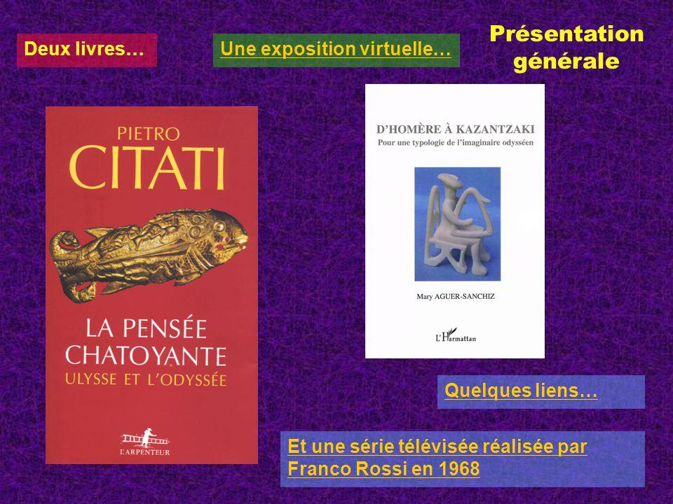 Deux livres… Quelques liens… Présentation générale Une exposition virtuelle… Et une série télévisée réalisée par Franco Rossi en 1968