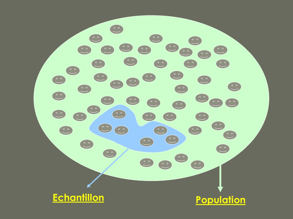 Echantillon Population