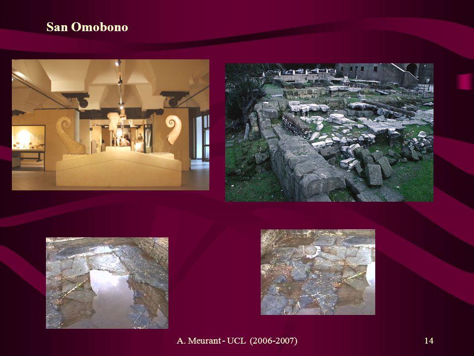 A. Meurant - UCL (2006-2007)14 San Omobono Athéna (?) et Héraclès