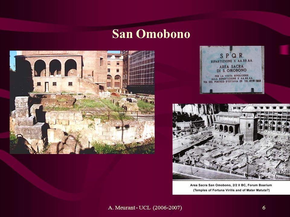 A. Meurant - UCL (2006-2007)6 San Omobono