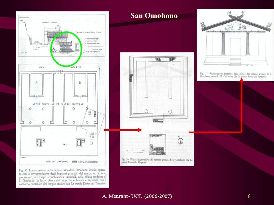 A. Meurant - UCL (2006-2007)8 San Omobono