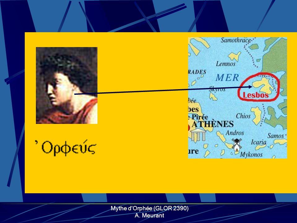 Mythe d'Orphée (GLOR 2390) A. Meurant