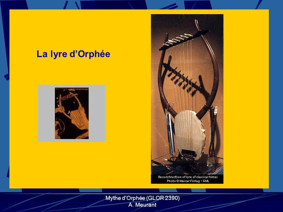 La lyre dOrphée