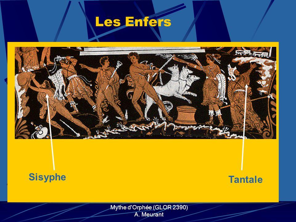 Mythe d'Orphée (GLOR 2390) A. Meurant Sisyphe Les Enfers Tantale