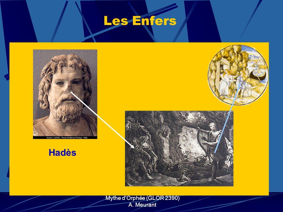 Mythe d'Orphée (GLOR 2390) A. Meurant Hadès Les Enfers