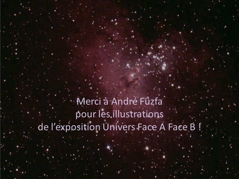 Merci à André Füzfa pour les illustrations de lexposition Univers Face A Face B ! 36