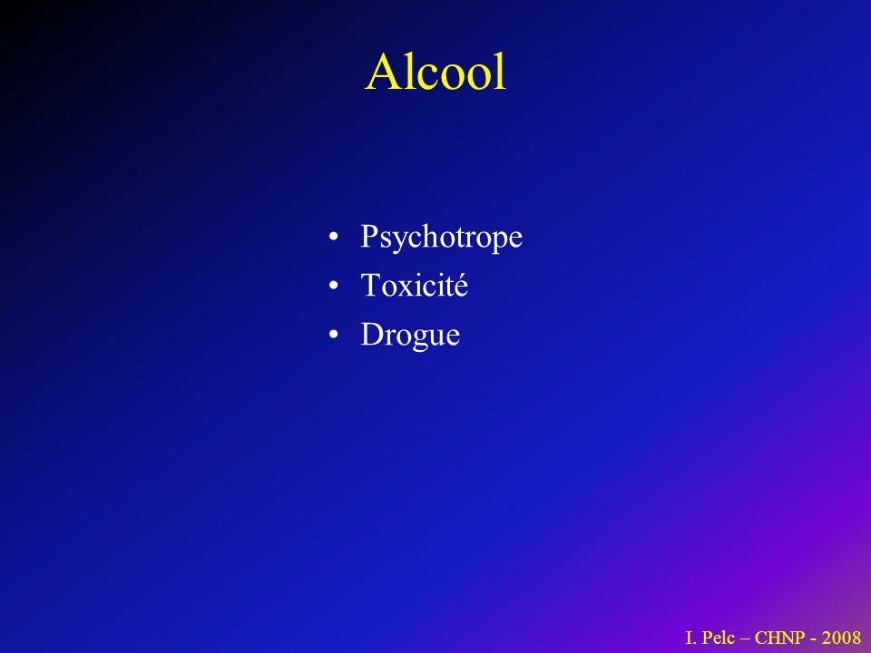 Alcoolisme Dépendance Mécanismes dentretien : – Psychologique / social – Neurobiologique I.
