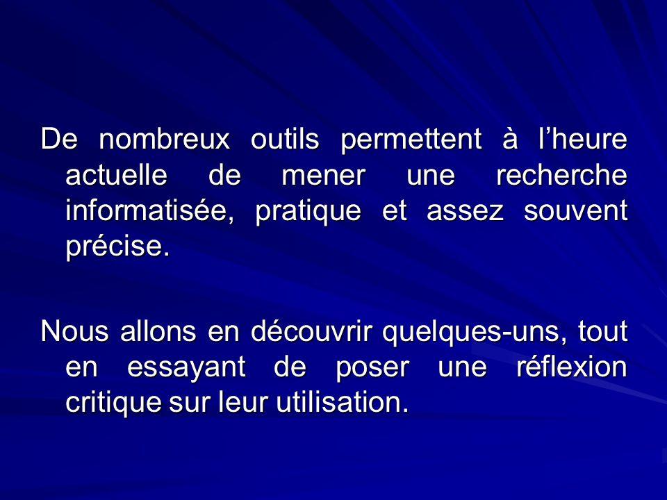 D) Le catalogue de la BNF BNF = Bibliothèque nationale de France.