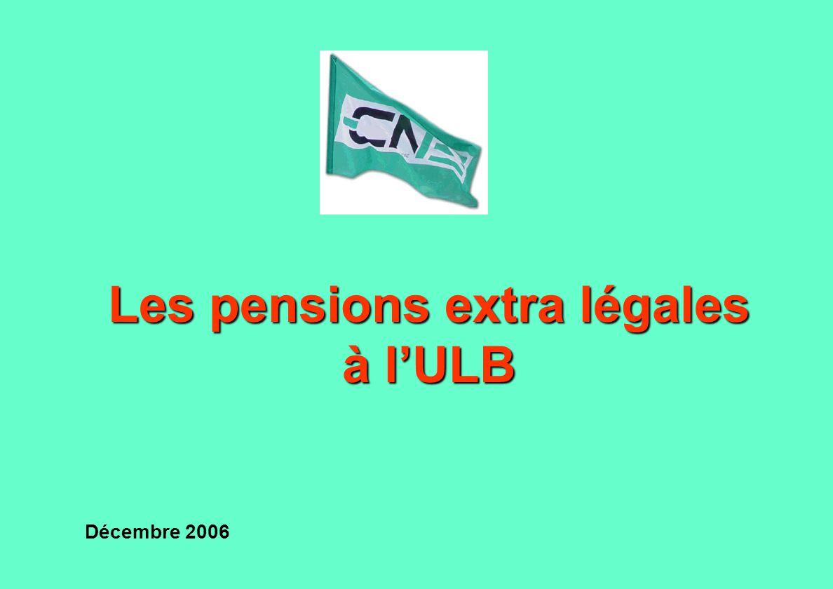 Assurance groupe type 2 ULBULB ONPONP Système actuel ONPONP AG ULB Assurance groupe type 1 ONPONP AGAG Pension Etat Statut du PATGS