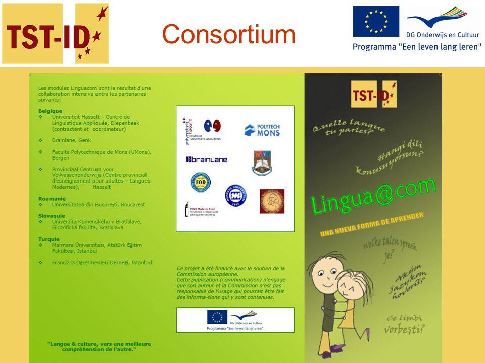 Ce projet est financé avec le soutien de la Commission européenne. Consortium