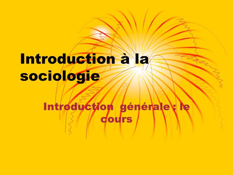 Les supports Les PP sur le site Pôle-Sud Le portefeuille le lecture visant à donner un écho des théories dans les débats contemporains Le livre Introduction à la sociologie