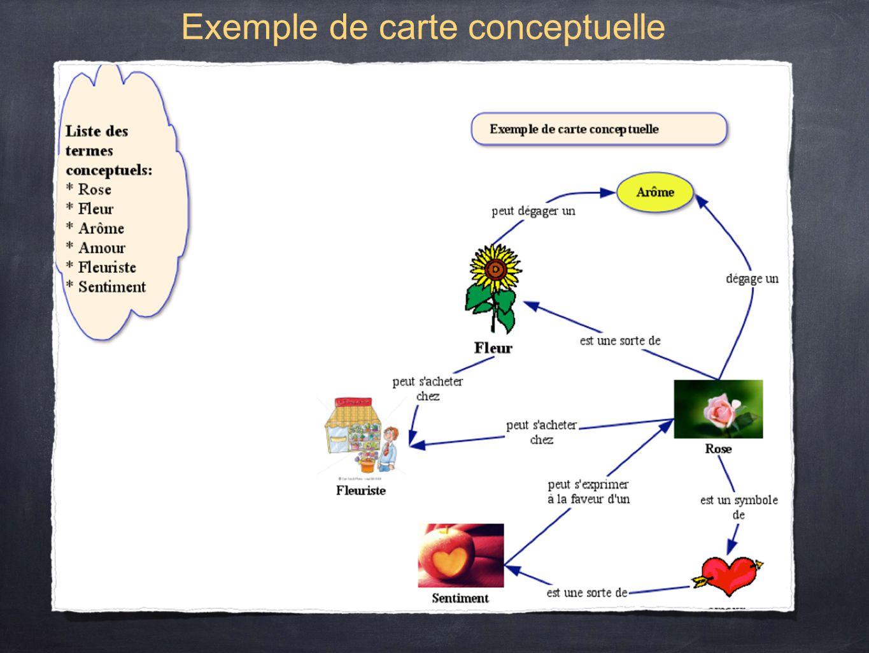 Exemple de carte conceptuelle