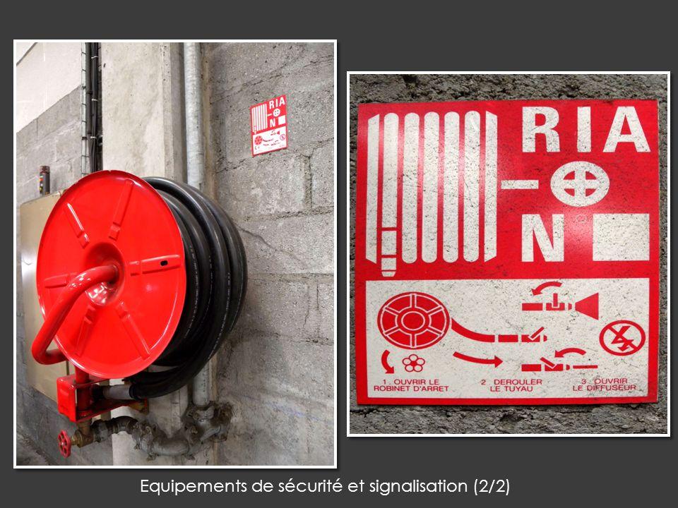 Equipements de sécurité et signalisation (2/2)