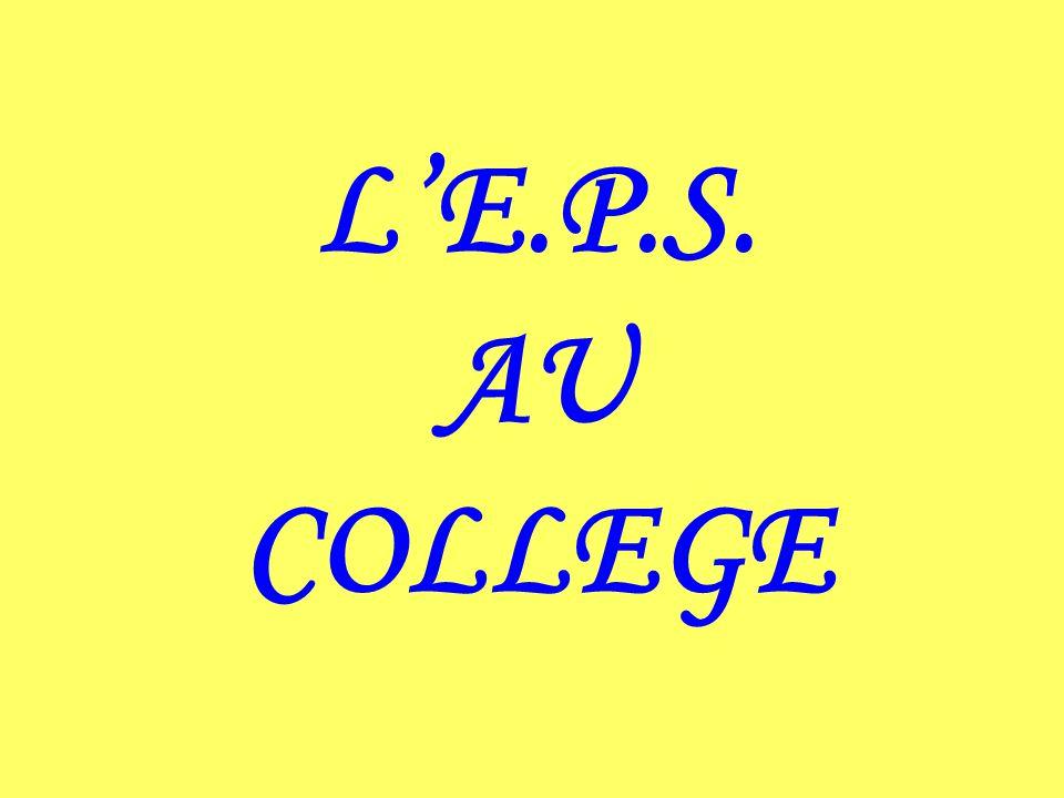 LE.P.S. AU COLLEGE