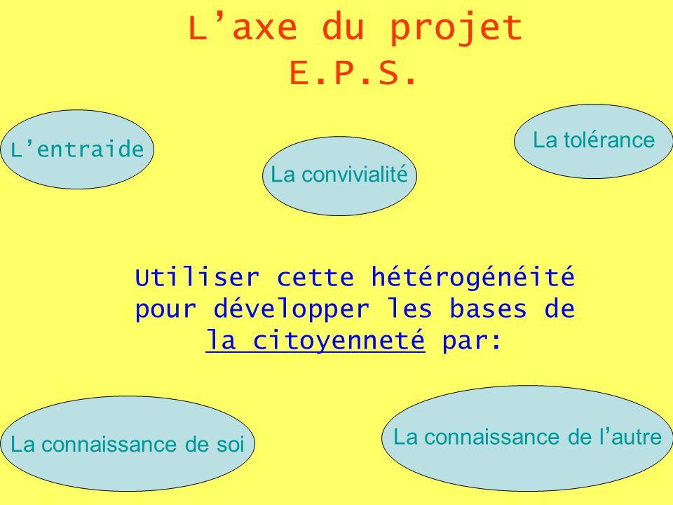 Laxe du projet E.P.S.