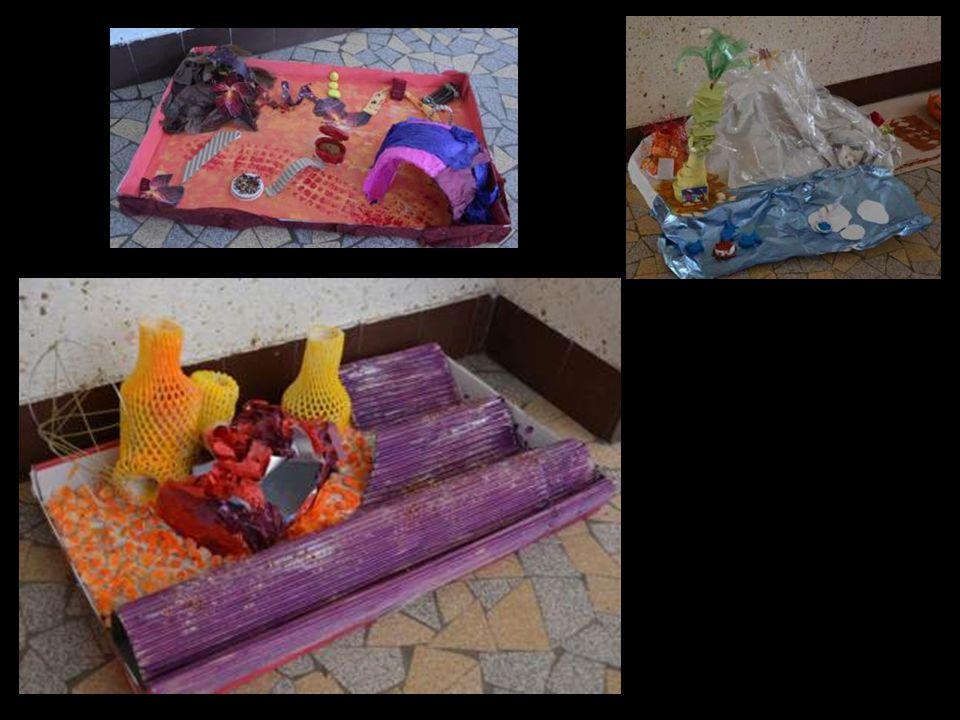 Utiliser les motifs graphiques caractéristiques dune culture dans une mise en scène (diorama)