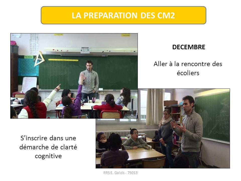 RRS E. Galois - 75013 LA PREPARATION DES 6èmes développer des compétences: -transversales et civiques - langagières SEPTEMBRE / OCTOBRE -techniques et