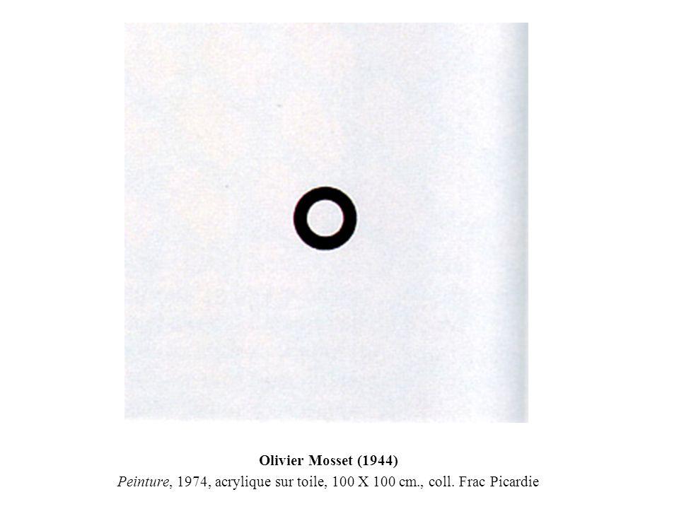 photo-souvenir : « Exposition d une exposition, une pièce en 7 tableaux », 1972, travail in situ, in Documenta V, Kassel.