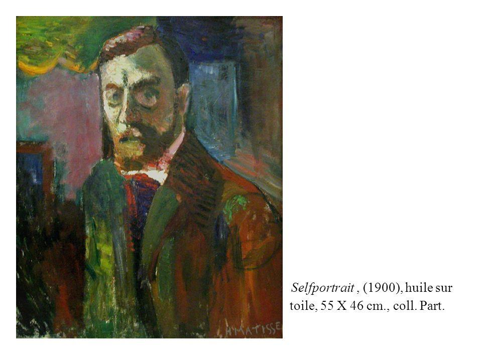 Selfportrait, (1900), huile sur toile, 55 X 46 cm., coll. Part.