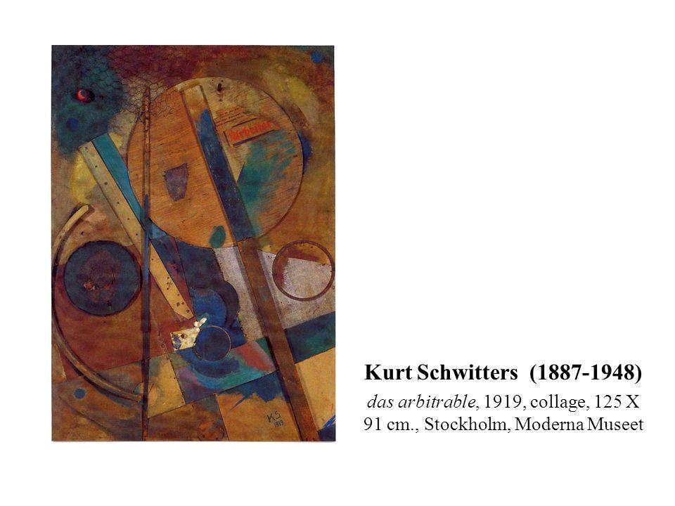 Tableau Rastadada, 1920, collage sur papier, 19 X 17 cm., coll. Part.