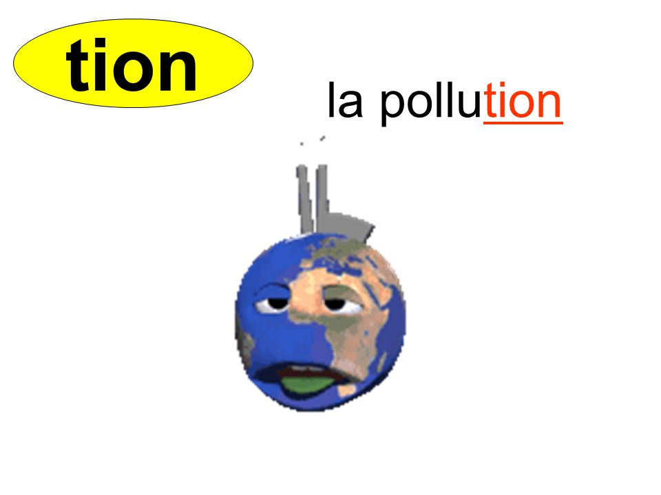 tion la pollution